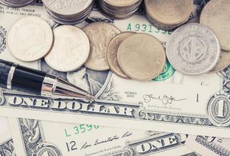 dollaro ammucchiato