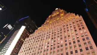 edificio per uffici notturni