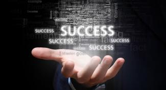 Success in hand