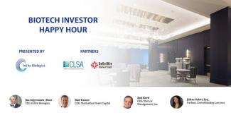 presentazione happy hour per investitori biotecnologici