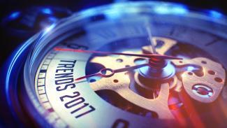 Trends horloge voor 2017